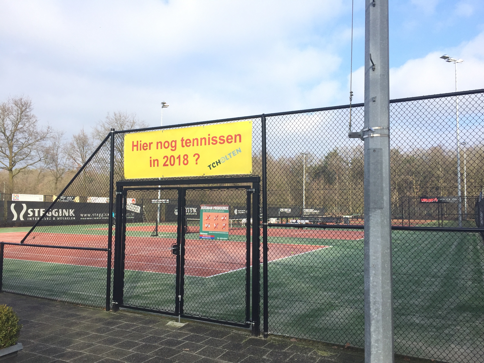 Hier nog tennissen in 2018?